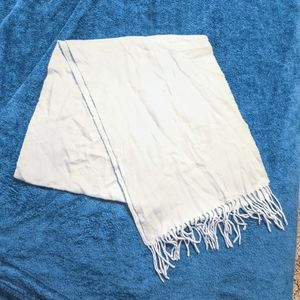 Dillard's Light Blue Scarf